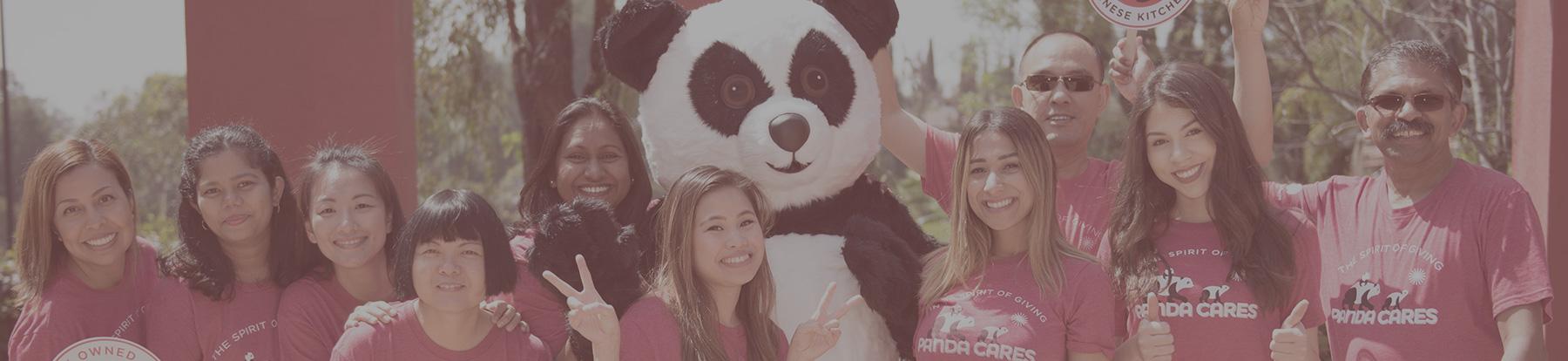 Associates with Panda bear